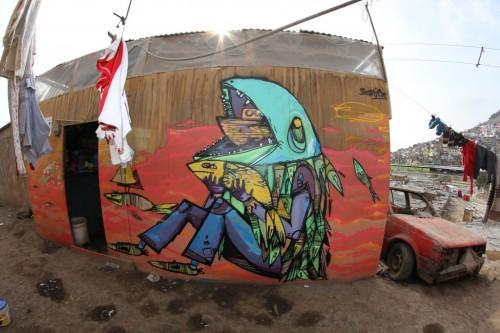 Siemiek in Canta Gallo, Peru